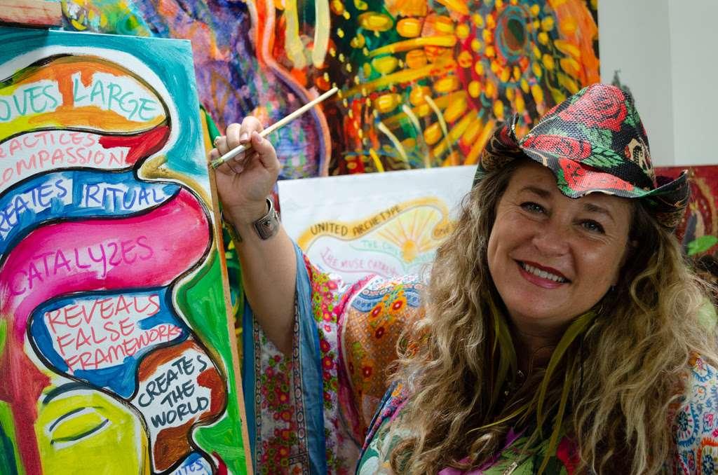 Shiloh Sophia Painting