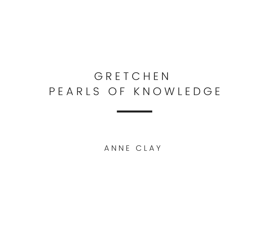 Gretchen - Pearls of Knowledge