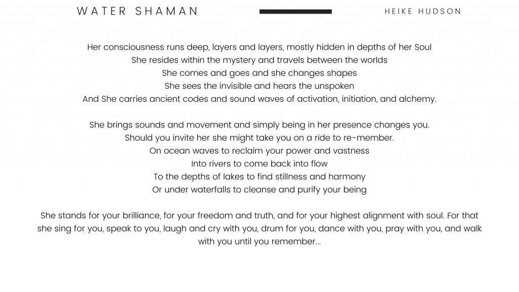 Water Shaman