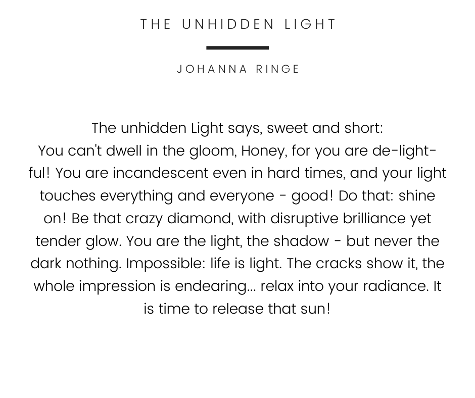 The Unhidden Light