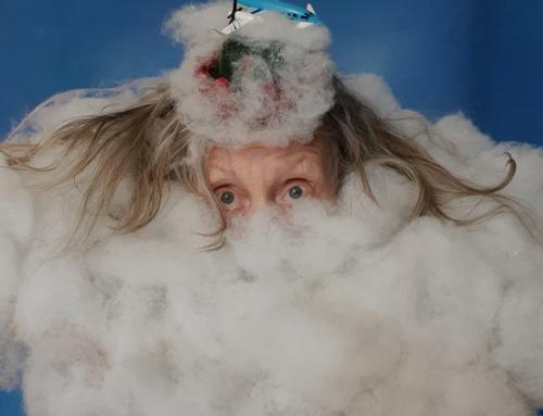 A fun Museum Show with the 'Subversive Granny', multimedia artist Lizz Daniels